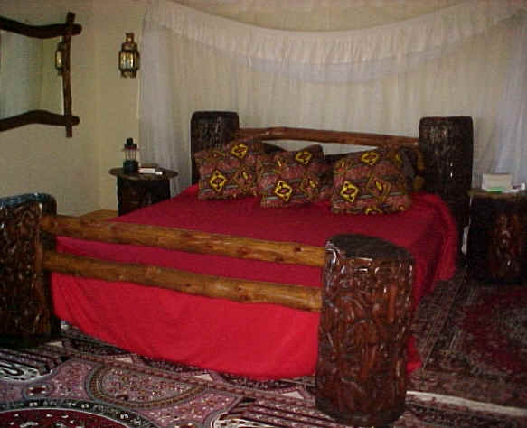 African Beds From The Funzi Furniture Factory In Kenya